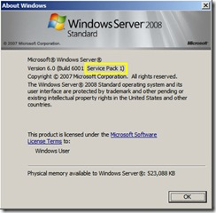 Windows 2008 SP1