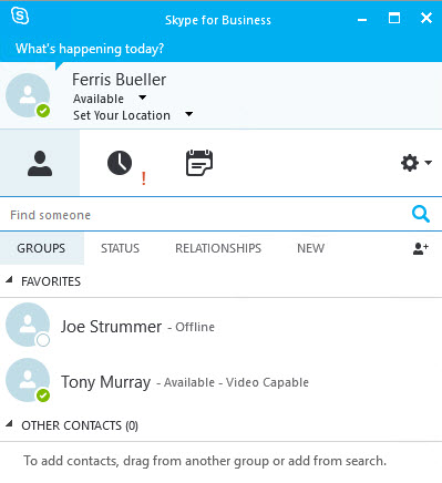 Open a Socket! » Blog Archive » Skype for Business Online and